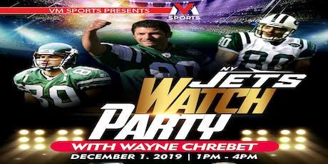 NY Jets Watch Party with Wayne Chrebet tickets
