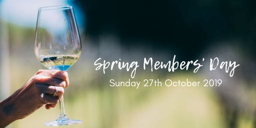 Spring Members' Day 2019