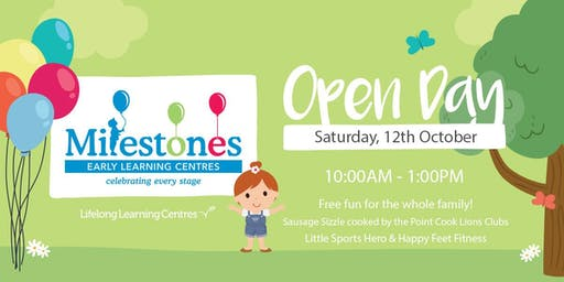 Open Day at Milestones Point Cook
