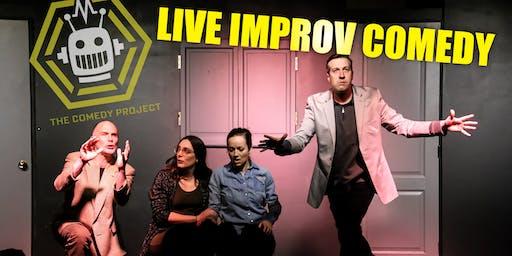 Late Night Improv Comedy! SATURDAY!