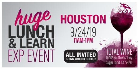 Houston eXp TOTAL WINE Lunch & Learn tickets