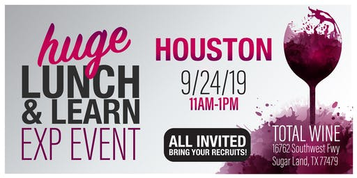 Houston eXp TOTAL WINE Lunch & Learn