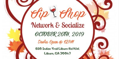 2nd Annual Autumn Sip N Shop Network &  Social