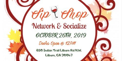 2nd Annual Autumn Sip N Shop Network &  Social