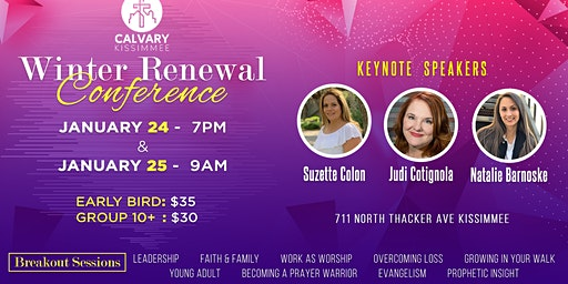 Calvary Kissimmee Winter Renewal Conference