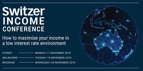 Switzer Income Conference & Masterclass Sydney tickets
