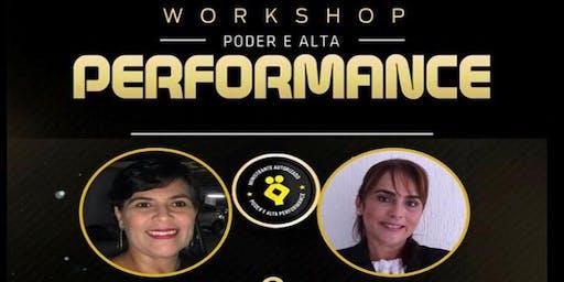 WORKSHOP PODER E ALTA PERFORMANCE - VAGAS LIMITADAS!