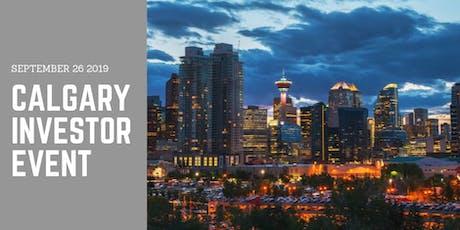 Calgary - WhiteHaven Investor Event tickets