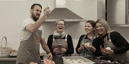 Edible Garden Book Launch Dinner Event