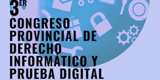 3° Congreso Provincial de Derecho Informático y Prueba Digital