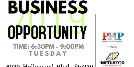 BUSINESS OPPORTUNITY & NETWORKING tickets