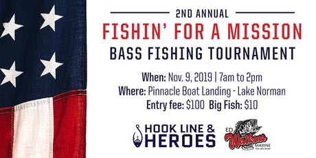 Fishin For A Mission 2019 tickets