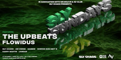 Sly Sundays ft. The Upbeats + Flowidus! tickets