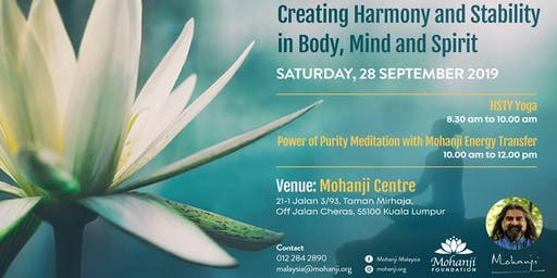 Creating Harmony and Stability in Body, Mind and Spirit