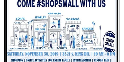 Chicago's 2019 Shop Small Business Saturday.  Support Shop & Create with US