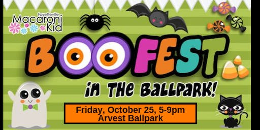 4th Annual Macaroni Kid Halloween Event- BOOFest at the Ballpark