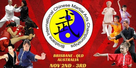 Brisbane International Chinese Martial Arts Championships (BICMAC) 2019 tickets