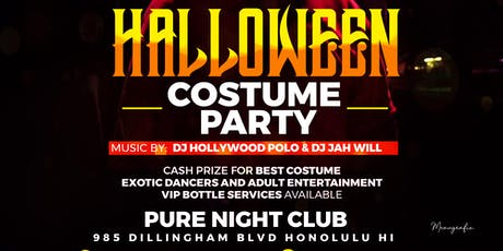 Costume party tickets