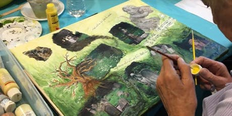 Expressive Arts 8-Week Course: PhotoPainting tickets