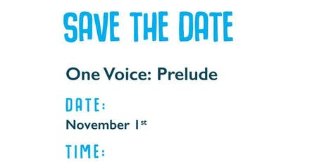 One Voice: Prelude Fundraiser tickets
