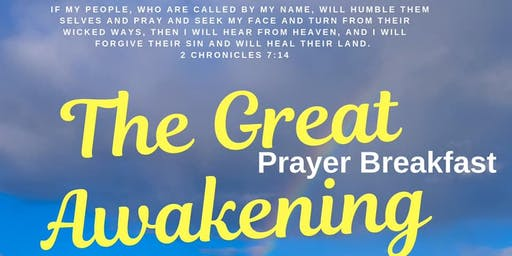 The Great Awakening Prayer Breakfast