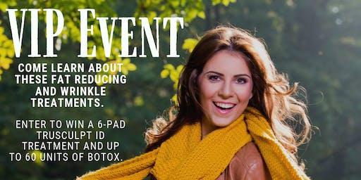 VIP TruSculpt & Botox Event