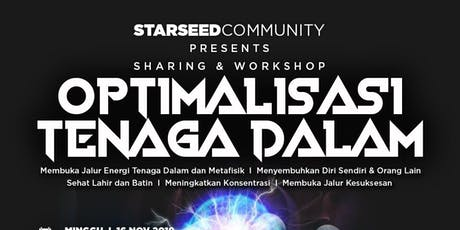 OPTIMALISASI TENAGA DALAM tickets