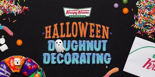 Krispy Kreme Halloween Doughnut Decorating