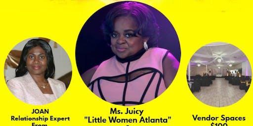 Meet and greet Ms Juicy!!  Little Women Atlanta!