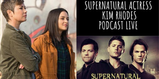 Live Podcast with STAR of Supernatural and The Suite Life of Zack and Cody