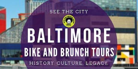 Bike & Brunch Tours: Baltimore! Harbor Area Tour tickets