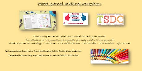 Mood Journal Making Workshop tickets