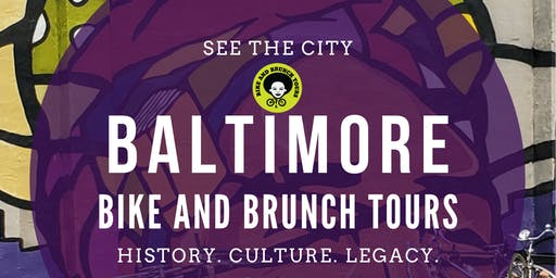 Bike & Brunch Tours: Baltimore Harbor to the Heights: Neighborhood Tour