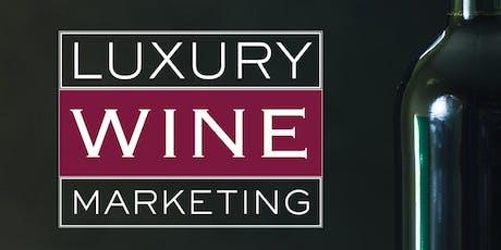 Luxury Wine Marketing Book Signing tickets