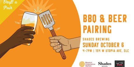 Craft a Pair - BBQ and Beer Pairing tickets