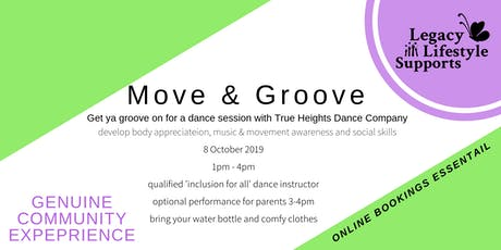 Move and Groove tickets