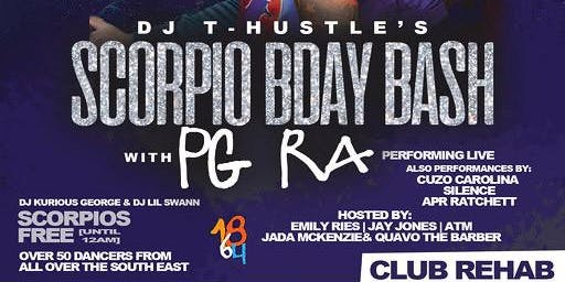 PG RA Live @ Club Rehab (DJ T-Hustle B-Day Bash)