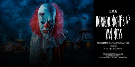 Horror Nights N' Van Nuys tickets