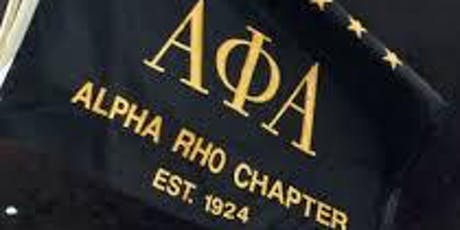 95th Anniversary  - Alpha Rho Chapter Alumni Homecoming Weekend 2019 tickets