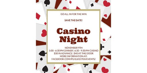 Casino Night at the Lodge!