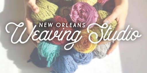 Floor Loom Weaving Workshop 12/19