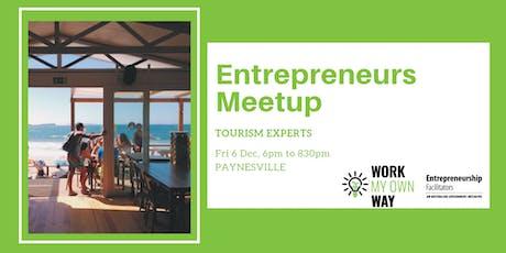 Entrepreneurs Meetup: Tourism Businesses tickets