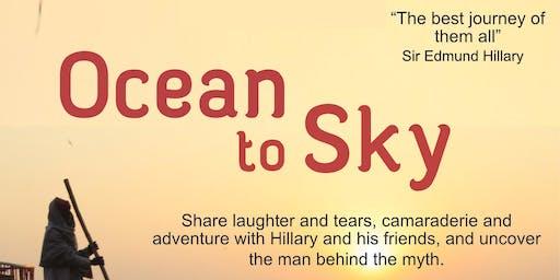 Ocean to Sky - Graeme Dingle Foundation Preview Screening
