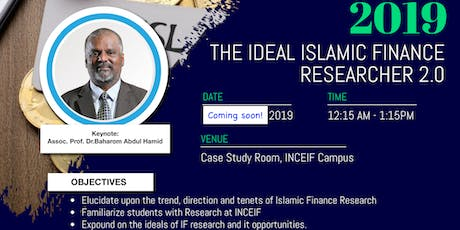 RCIF Orientation 2019: The Ideal Islamic Finance Researcher tickets