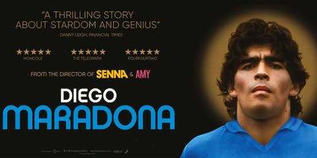 Diego Maradona - Encore Screening - Wed 23rd October - Brisbane tickets