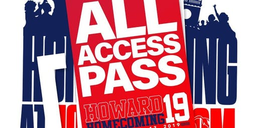 Howard Homecoming Movemaker ALL ACCESS PASS
