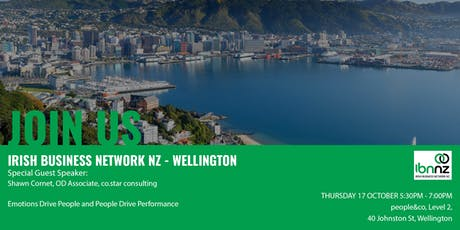 IBNNZ Wellington - Emotions Drive People and People Drive Performance tickets