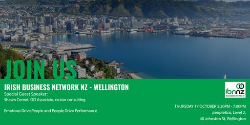 IBNNZ Wellington - Emotions Drive People and People Drive Performance