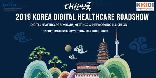 2019 KOREA DIGITAL HEALTHCARE ROADSHOW