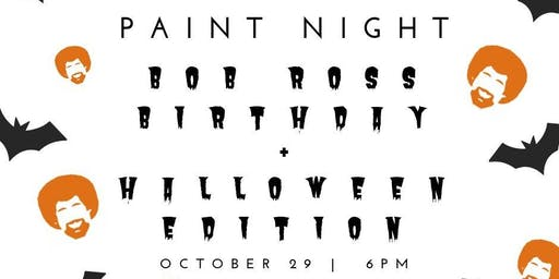 Copper&Kings + Bit House present Paint Night the Bob Ross+Halloween Edition